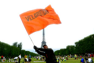 Vélorution universelle – Paris 2010 – Photo Michele
