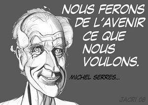 Michel SERRES (portrait de Christian JACOT)