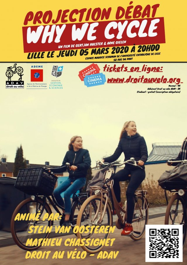 affiche why we cycle
